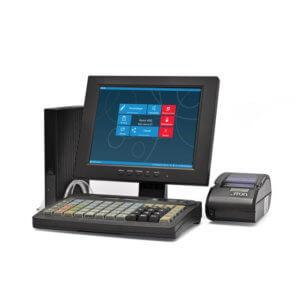 POS-комплект 10″ HUB-19, SJ-1088, KB-60 MSR