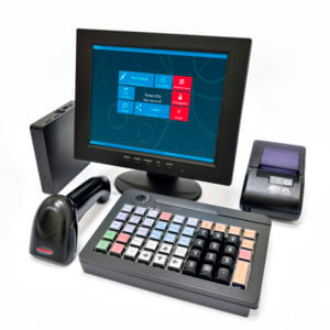 POS-комплект 10″ HUB-19 KB-60 MSR